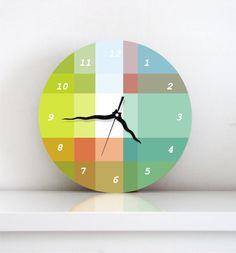 Pastel Wall Clock