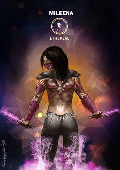 Mortal Kombat X Mileena Ethereal by Grapiqkad