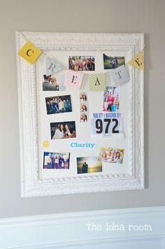 CREATE bulletin board via Amy Huntley (The Idea Room)