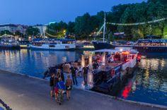 Turku summer night. Finland