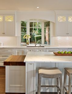 10 Styling Options for Your Kitchen Windows | New Kitchen Designs ...