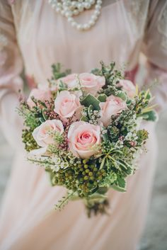 Blush roses // Easy, Breezy Wedding at Changi Beach Park: Adrian and Jane