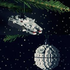 Star Wars Lego Christmas Ornaments!
