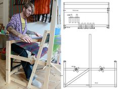 floor loom plans | by Action Weaver