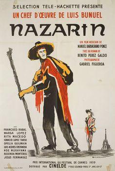 Nazarin 1959 French Half Grande Poster