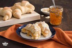 Pineapple Coconut Quick Bread | Imperial Sugar Homemade Crescent Rolls, Crescent Roll Recipes, Coconut Quick Bread, Cream Horns, Sugar Puffs, Imperial Sugar, Baked Rolls, Pineapple Coconut, Toasted Almonds