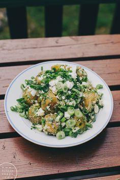 kreikkalainen perunasalaatti / Hannan soppa