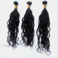 3 Pcs/Lot Super Virgin 100% Human Brazilian Loose Wave Nice Hair Extensions