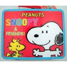 Tin Snoopy Lunchbox $10