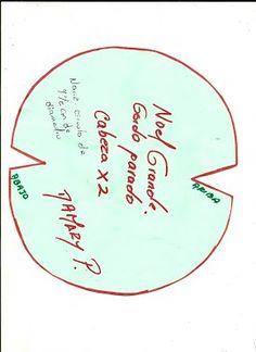 Santa Ingles - Aprendamos Juntos Decorative Plates, Diy Crafts, Tableware, Grande, Craft Ideas, Patterns, Decorated Flip Flops, Embellishments, Felt Dolls