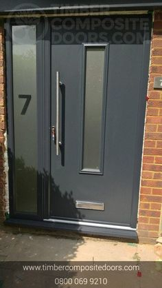 This Oozes excellence externally and internally! Design, price and order your perfect door online instantly! Timber Composite Doors are the UKs Solidor Supplier and installer! All Doors come with Finance available Contemporary Front Doors, Modern Contemporary, Solidor Door, Doors Online, Composite Door, French Grey, Duck Egg Blue, Door Design, Locker Storage