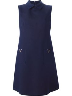 Shop Valentino sleeveless shirt dress in Parisi from the world's best independent boutiques at farfetch.com. Shop 300 boutiques at one address.