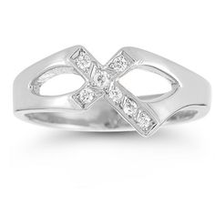 Christian Cross Sterling Silver White Topaz Ring        Custom made to order - 5-7 days required before product ships           The beauty of sterling silver is an expertly designed Christian ring.  The piece brings the bright white brilliance of sterling silver and gives it the perfect place to shine.  A gorgeous Christian cross takes center stage and features clean lines.  A touch of radiant shimmer is found in the white topaz gemstones that adorn the cross.  Two open cut accents rest…