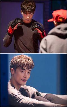 Sung Hoon training for Oh My Venus