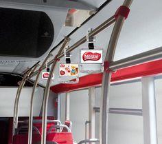 Creatividad para la app de Realidad Aumentada Holaapp para el interior de Metro y Autobús de Barcelona y Madrid, permitiendo la interacción con las publicidades, accediendo a contenidos espectaculares.