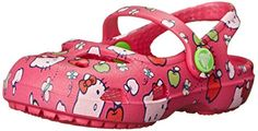 crocs Shayna Hello Kitty Apple Mary Jane (Toddler/Little Kid),Candy M US Toddler Toddler Crocs, Pink Crocs, Clogs Outfit, Hello Kitty Shoes, Pink Kids, Niece And Nephew, Pink Candy, Girls Shoes, Mary Janes