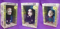 Remco Addams Family Dashboard Dolls set (1964)