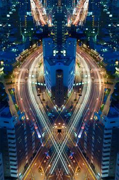 Graffiti of Speed / Mirror of Symmetry by Sinichi Higashi | Inspiration Grid | Design Inspiration