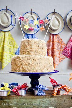 Bolo de Festa Junina -  /     Cake in June Party -