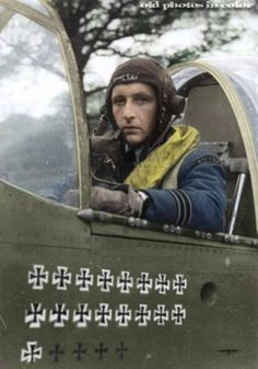 "Stanisław Skalski was a Polish fighter ace of the Polish Air Force in World War II. On 1 September 1939 he attacked a German Henschel Hs 126 reconnaissance aircraft, which was eventually shot down by Marian Pisarek. Skalski then landed next to it, helped to bandage wounded crew members and arranged for them to be taken to a military hospital. By 16 September Skalski reached ""ace"" status, claiming a total of six German aircraft and making him the first Allied air ace of World War II."