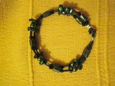 A magnetic bracelet with hematites and malachites to help your root and heart chakra work together as energy pair and bring stability and health in your bodies and in your life.Also very good for people who suffer from joint swelling and pain. Heart Chakra, Malachite, Stability, Bodies, Beaded Necklace, Jewels, Health, Bracelets, People