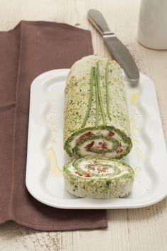 Rotolo di spinaci e ricotta