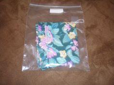 Ebay - $11.00 Longaberger-1993-Large-Easter-Small-Chore-Basket-Liner-Green-Floral