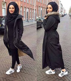 Winter outwears with hijab – Just Trendy Girls