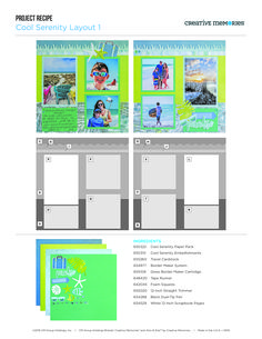 Scrapbooking products. The new CM is proud to offer the best of both worlds: authentic Creative Memories® scrapbooking products and quick-and-easy Ahni & Zoe products, as well as an innovative new sales opportunity for Advisors.