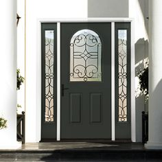 Therma Tru Smooth Star Half Lite RT 2 Panel Door Is A Beautiful And Classy