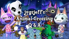 My first ever Animal Crossing Q&A! I answer over 60 questions about my Animal Crossing villagers, my towns, my favorites, my channel, my thoughts on New Hori. Animal Crossing Villagers, My Town, My Animal, Video Games, This Or That Questions, My Favorite Things, Pictures, Animals, Photos