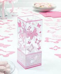 butterfly theme table display