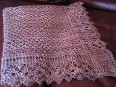 Free Pattern: Framed Blanket by Katie Hanrott