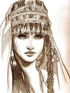 Fan art Princesse Tamina- Prince of persia- Les sables du temps Character Inspiration, Character Art, Art Sketches, Art Drawings, Art Du Croquis, Prince Of Persia, Purple Love, Arabian Nights, Fantasy Art