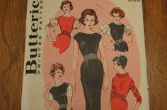 Vintage Dress Pattern 1960s Butterick 9146 by strangenotions, $7.00