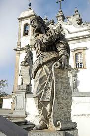 Arte Sacra obras de Alejadinho - historical Brazilian city located in the state of Minas Gerais.