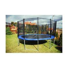 Trampolína BELG 244 cm - zahradní trampolína s ochrannou síťí #trampolína #Athletic24 #trampolinyzahradni