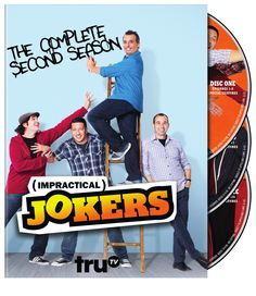 This release from the hidden-camera series IMPRACTICAL JOKERS includes all of the show's second season.