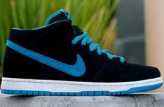 Nike SB Dunk Mid #sneakers #shoes