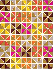 it's hard to remain *neutral* about a pattern so *colorful*