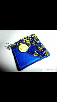 Blue Earring ..handmade locas creazioni