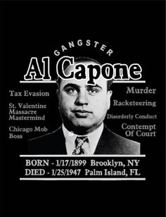 Al Capone Gangster Quotes, Real Gangster, Mafia Gangster, Al Capone Quotes, Baby Face Nelson, Godfather Quotes, Hate Valentines Day, Mafia Crime, Don Corleone
