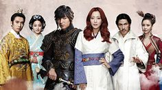 One of my favourite K-drams - The Great Doctor (Aka Faith). Starring Lee Min-Ho and Kim Hee-Seon. This drama depicts the timeless love between a warrior from the Goryeo period and a female doctor from the present day. Can their love truly transcend time and space? Find out! Go watch it now!! Here's a link!   http://www.viki.com/tv/1058c-the-great-doctor-aka-faith