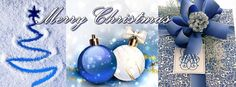 fbcover, christmas, blue,