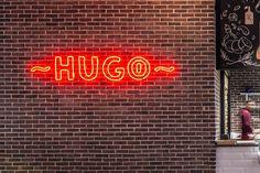 Hugo Restaurant, The Office, Neon Signs, Cosmopolitan