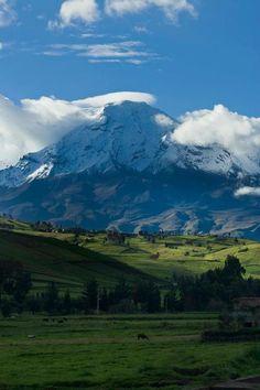 El Chimborazo...