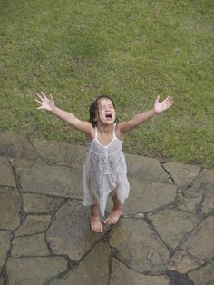 every child should be soaked in the rain.... at least once!
