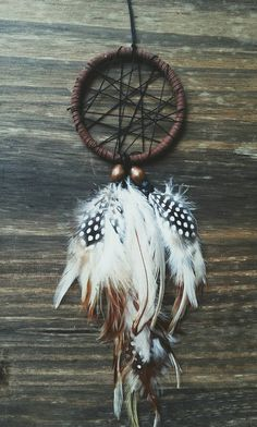 Mini Car dream catcher from The Wandering Feather