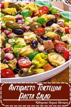 This packed potluck favorite includes multiple cheeses, meats, olives, peppers, and more to create a hearty Italian-inspired summer side dish. Healthy Crockpot Recipes, Slow Cooker Recipes, Healthy Dinner Recipes, Easy Recipes, Cheap Recipes, Drink Recipes, Breakfast Recipes, Dessert Recipes, Easy Family Dinners