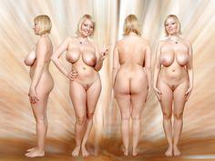 Frauen angezogen und ausgezogen fotos
